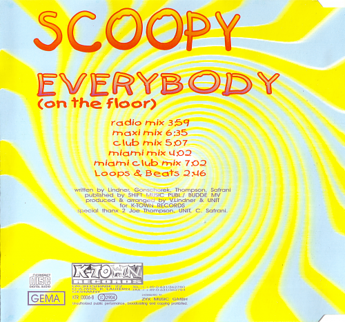 Scoopy - Everybody (1995)
