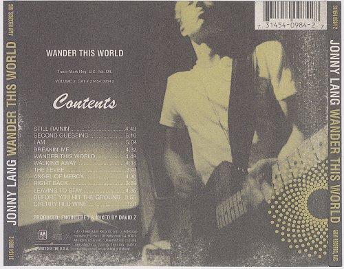 Jonny Lang - Wander This World (1998)