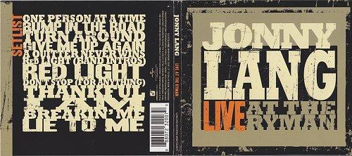 Jonny Lang - Live At The Ryman (2010)