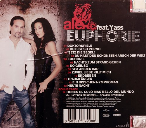 Alex C. Feat. Yass - Euphoria (2008)