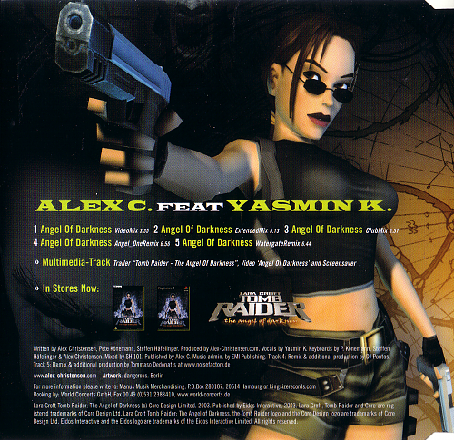 Alex C. feat. Yasmin K. - Angel Of Darkness (2003)