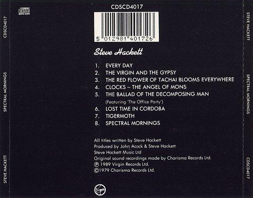 Steve Hackett - Spectral Mornings (1979)