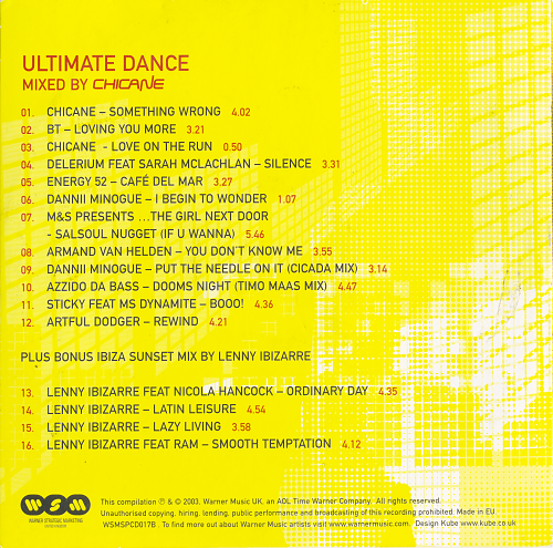 Ultimate Dance (2003)