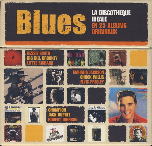The Perfect Blues Collection. 25 Original Albums (2011)