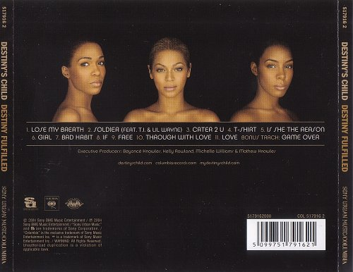 Destiny's Child - Destiny Fulfilled (2004)