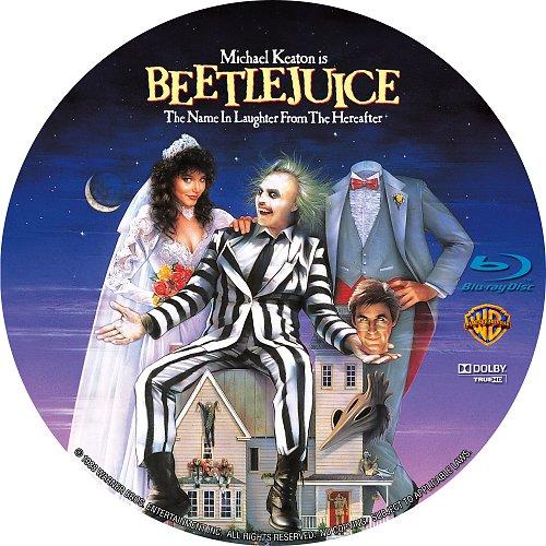Битлджюс / Beetlejuice (1988)