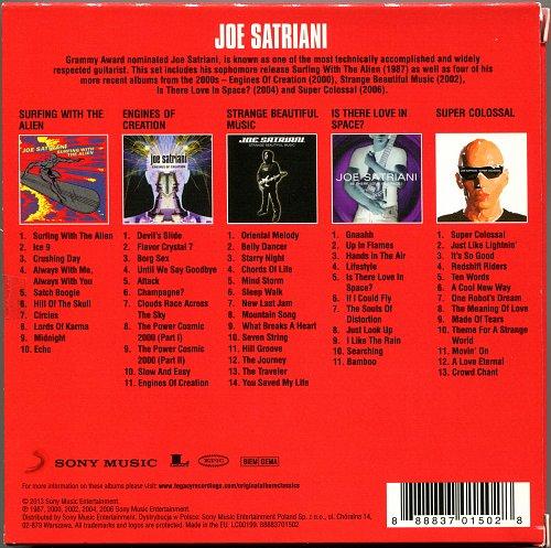 Joe Satriani - Original Album Classic (2010)