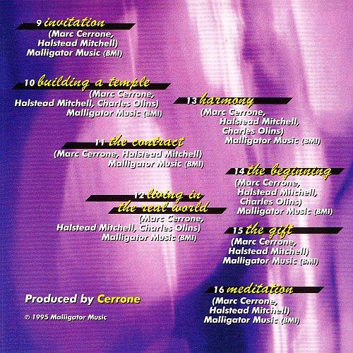 Cerrone - Dream (1992 A Cerrone Production, France)