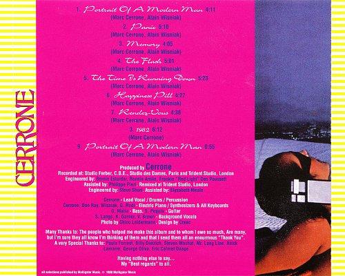 Cerrone - V Angelina / VI Panic (1979/1980 Ariola/RCA) (2002 CD-Maximum, Russia)