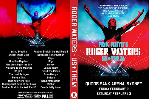 Roger Waters - Us+Them. Live in Sydney (2018)