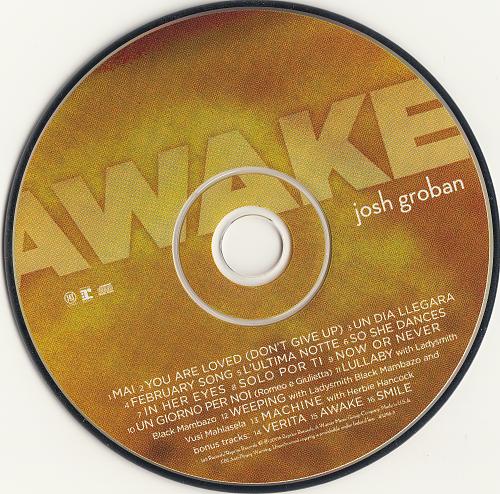 Josh Groban - Awake (2006)