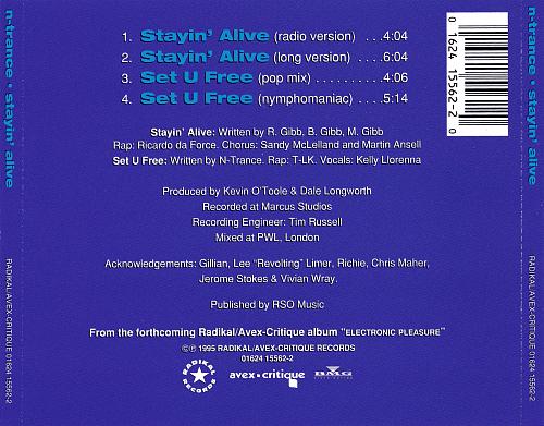 N-Trance - Stayin' Alive (1995)