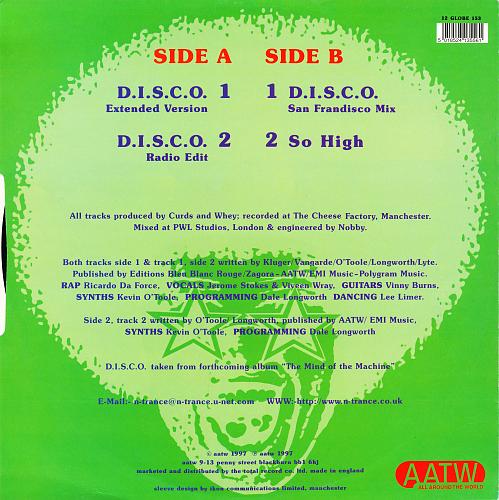 N-Trance – D.I.S.C.O. (1997)