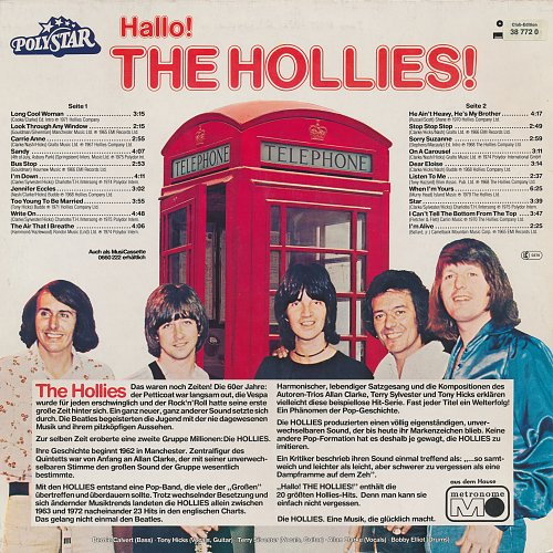 The Hollies - Hallo! The Hollies