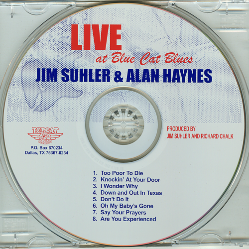 Jim Suhler & Alan Haynes - Live At Blue Cat Blues (2000)