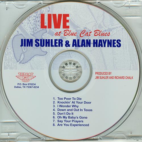 Jim Suhler & Alan Haynes - Live At Blue Cat Blues (2000)