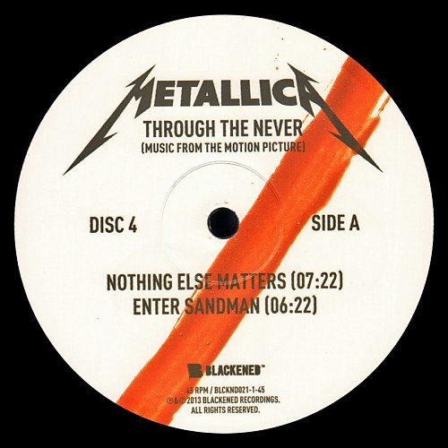 Metallica - Through The Never (Music From The Motion Picture) [2013]