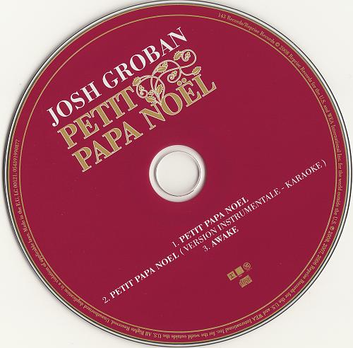 Josh Groban - Petit Papa Noel (2008, CD-Single)