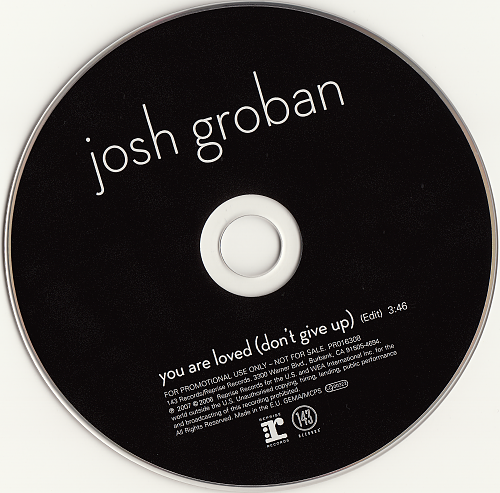 Josh Groban - You Are Loved (2007, CD-Single)