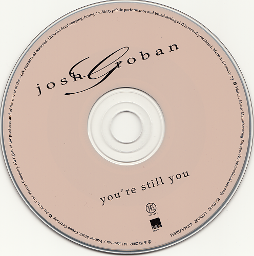 Josh Groban - You're Still You (2002, CD-Single)