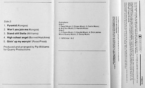 Graham Bonnet - No Bad Habits (1981 Phonogram International B.V., Mercury, Holland/Netherlands)