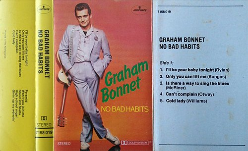 Graham Bonnet - No Bad Habits (1981 Phonogram International B.V., Mercury, Holland/Netherlands)