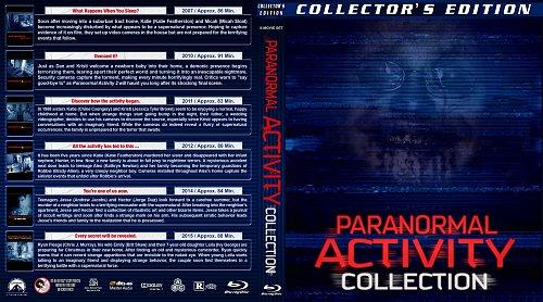 Паранормальные явления 6в1 / Paranormal Activity Collection (2007-2015)