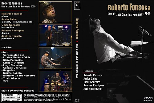 Roberto Fonseca - Live at Jazz Sous les Pommiers (2009)