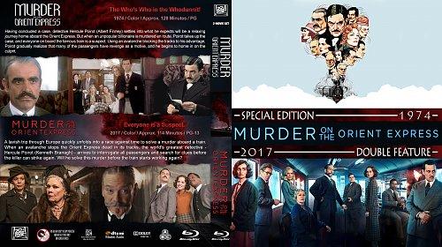 убийство в восточном экспрессе 2в1 / Murder on the Orient Express Double Feature (1974-2017)