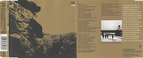 U2 - One (1992, CD-Single)
