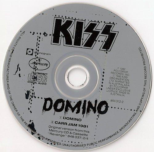 Kiss - Domino (1992, CD-Single)