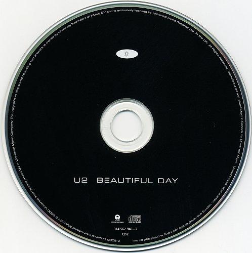 U2 - Beautiful Day (2000, CD-Single)