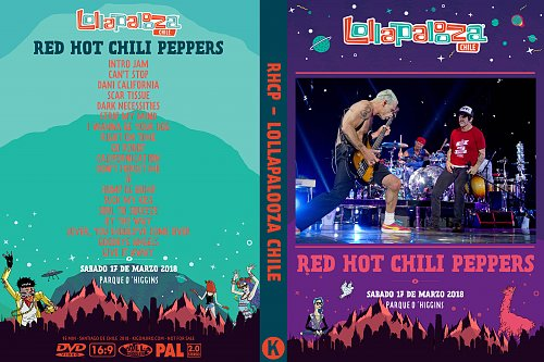 Red Hot Chili Peppers - Lollapalooza Chile (2018)