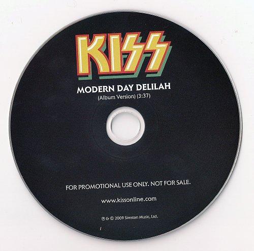 Kiss - Modern Day Delilah (2009, CD-Single)