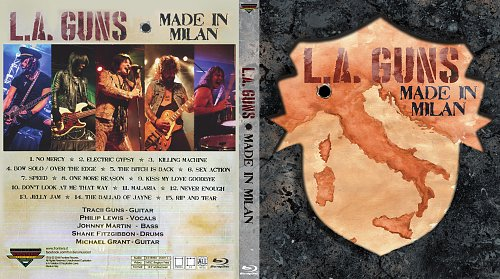 L.A. Guns - Live In Milan (2018)