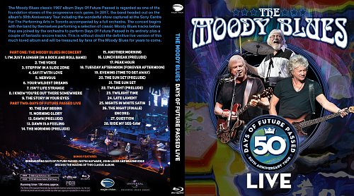 Moody Blues, The - Days Of Future Passed Live (2018)