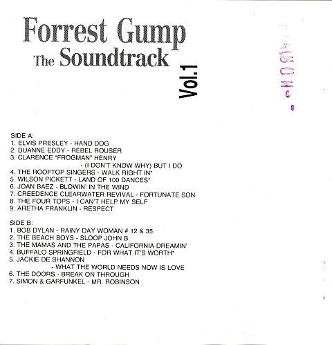 Forrest Gump - The Soundtrack Vol.1 (1994)