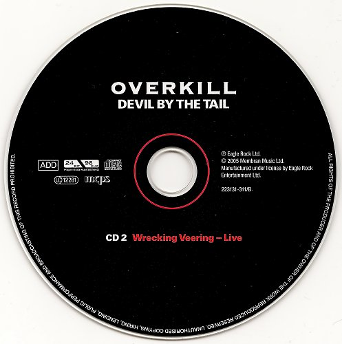 Overkill - Devil By The Tail (2005)