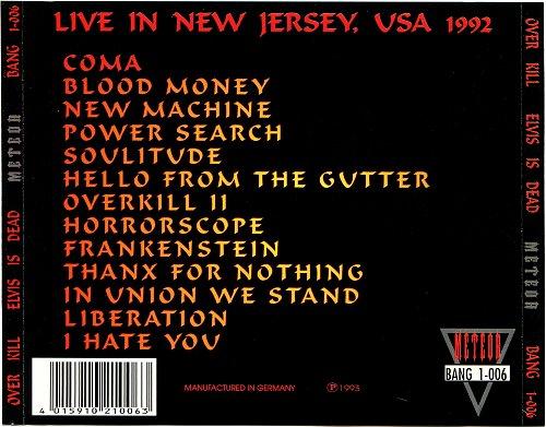 Overkill - Elvis Is Dead (1993)