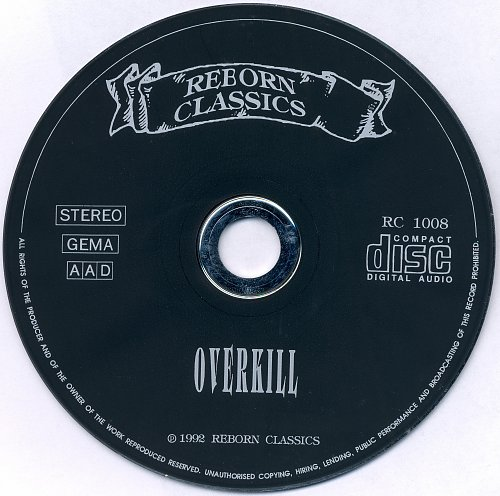 Overkill - Rotten To The Core (1992)