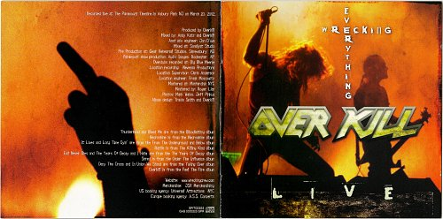 Overkill - Wrecking Everything. Live (2002)