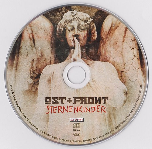 Ost+Front - Sternenkinder (2015, CD-Single)