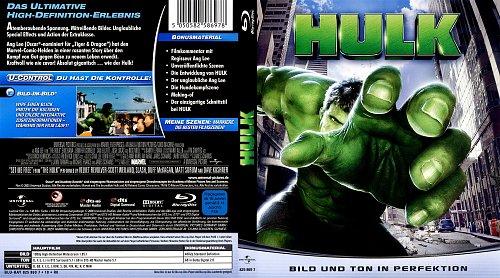 Халк / Hulk [2003, Blu-ray]