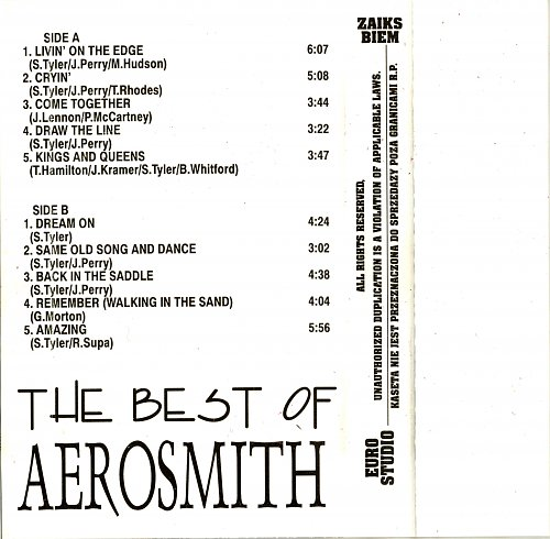 Aerosmith - The Best Of Aerosmith (1993)
