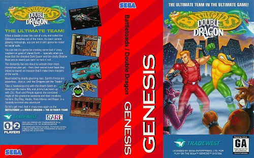 Battletoads & Double Dragon (Genesis)