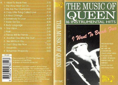 Gary Tesca Orchestra, The - The Music Of Queen (1994)
