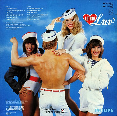 Luv' - Lots of Luv' (1979) [LP Philips 6423 117]
