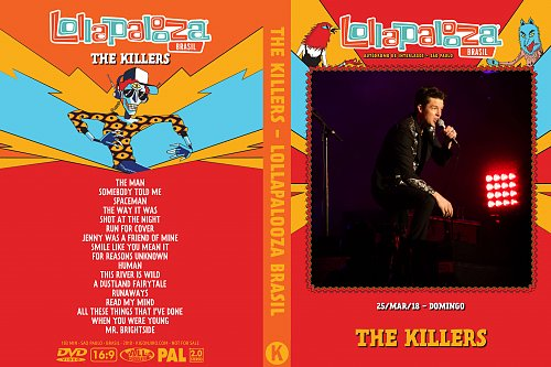 Killers - Lollapalooza Brasil (2018)