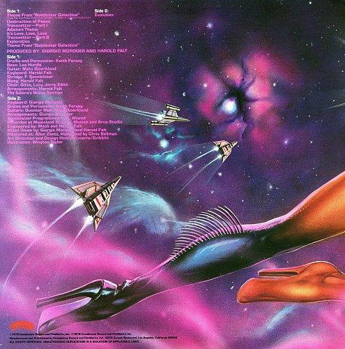 Giorgio Moroder - Battlestar Galactica (1978) [LP Casablanca NBLP 7126]