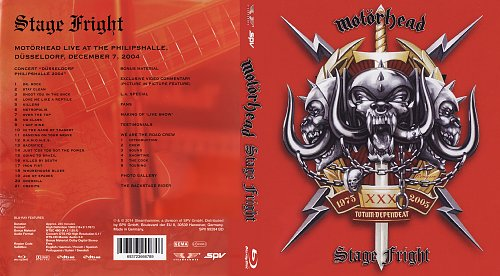 Motörhead - Stage Fright (2014)